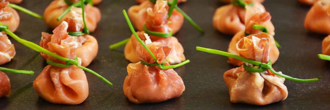 Canape Catering London Cold Parma Ham Parcel