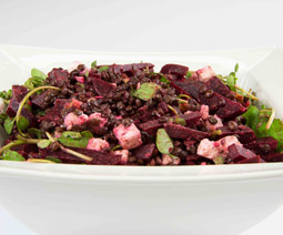Beetroot Feta Walnut Salad
