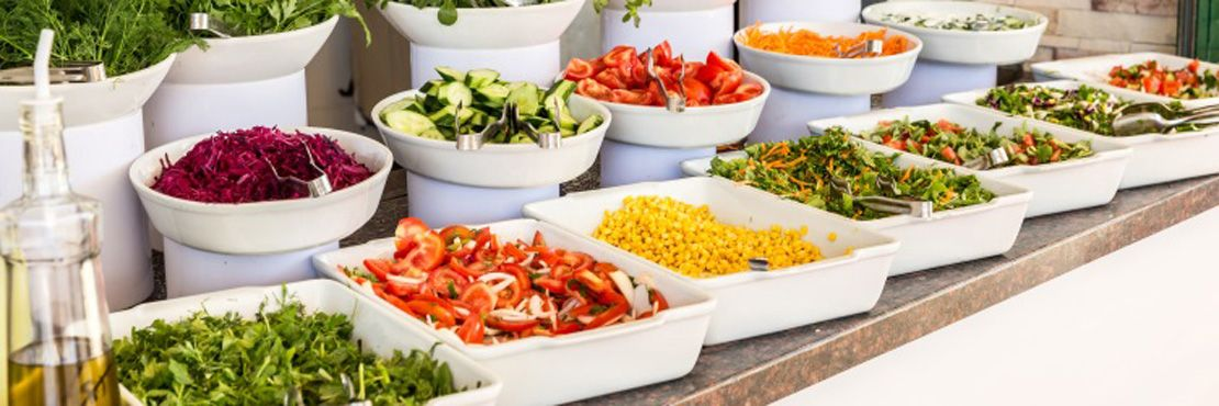 Cold Buffet London Caterer Salad Bar