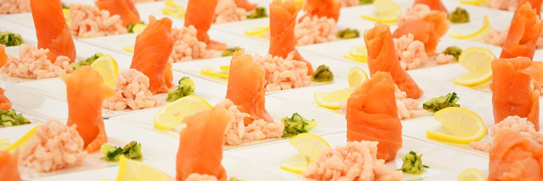 Cold Buffet London Caterer Smoked Salmon