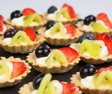 Dessert Canapé Event Catering London