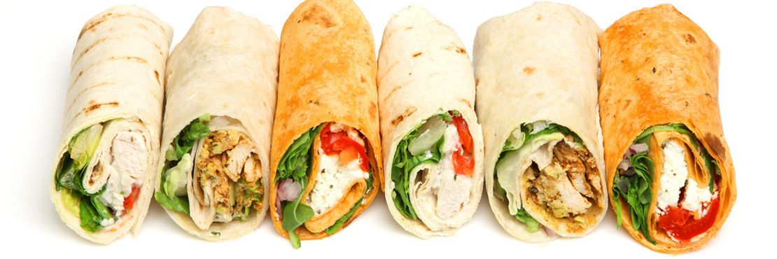 Finger Food Buffet Catering Companies London Wraps