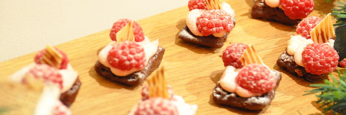Canape Catering London Dessert Brownie