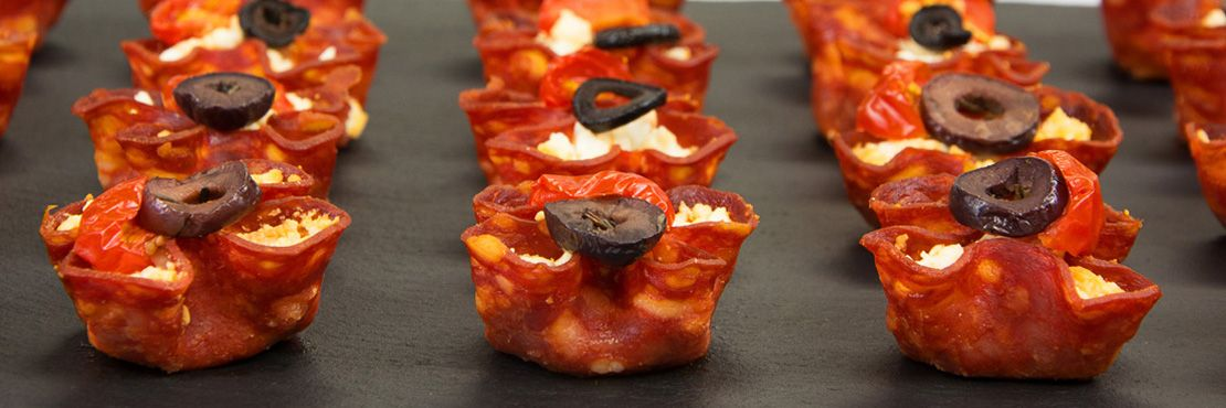 Canape Catering London Hot Chorizo Feta