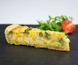 Quiche Slice Asparagus