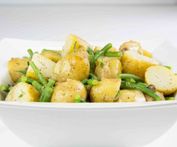New Potato Green Bean Capers Salad