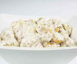 New Potato Red Onion Salad