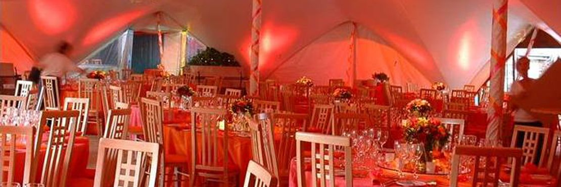 Fine Dining Event Caterer London Marquee Pink