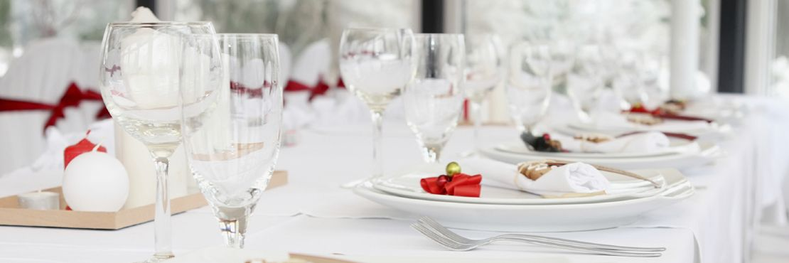 Fine Dining Event Caterer London Place Setting