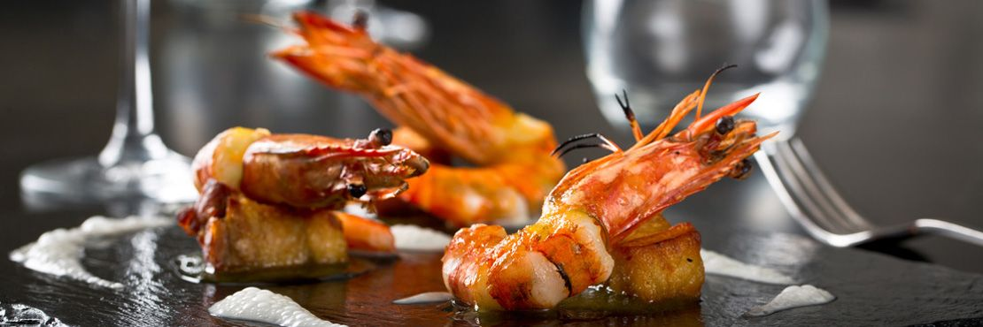 Fine Dining Event Caterer London Prawn