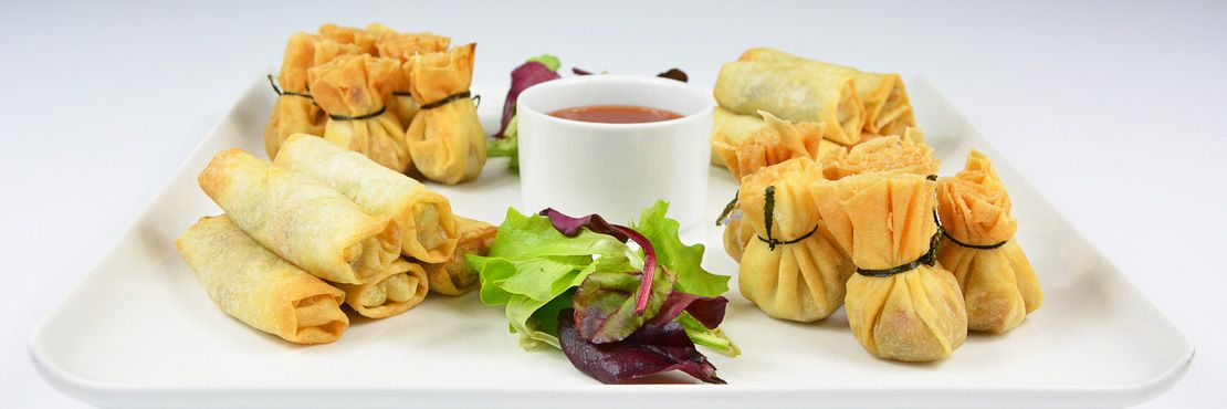 Finger Food Buffet Catering Companies London Thai Platter