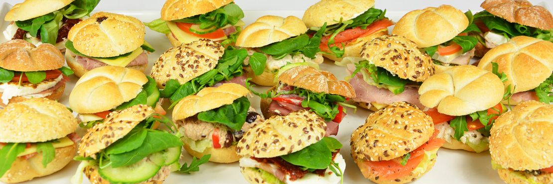 Sandwiches Office Catering London Seeded Rolls